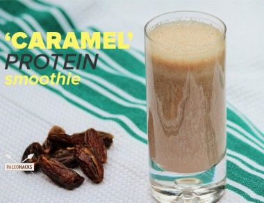 Caramel Protein Smoothie Recipe