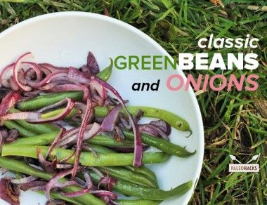 Green Bean and Onion Recipe