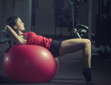 6 Stability Ball Exercises to Tone Your Abs