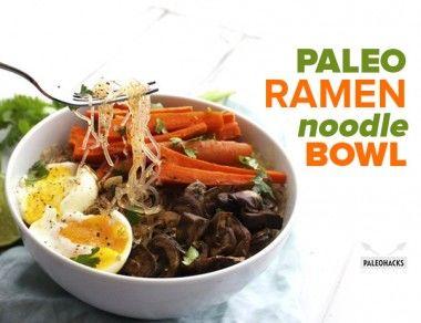 Paleo Ramen Noodle Bowl