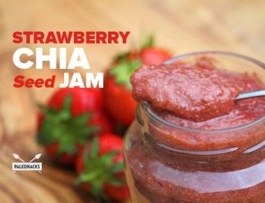 Strawberry Chia Seed Jam