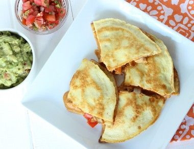 Cheesy Chicken Paleo Quesadillas