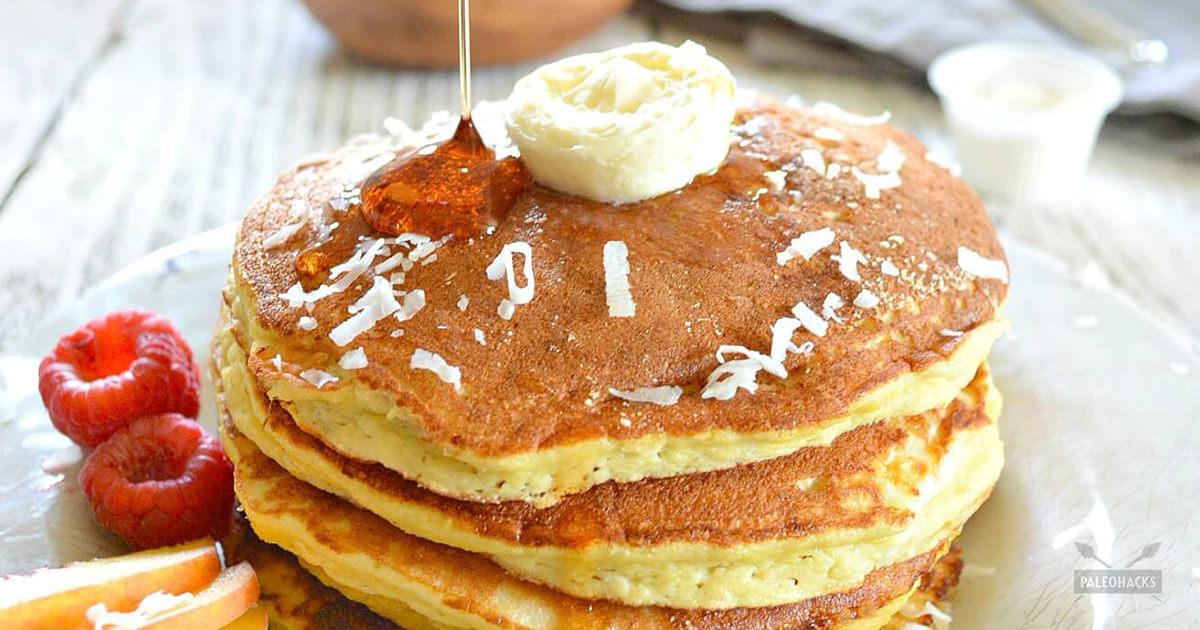 Delicious coconut flour pancakes paleo grain gluten free ccuart Image collections