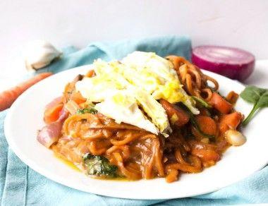 Paleo Sweet Potato Pad Thai Recipe