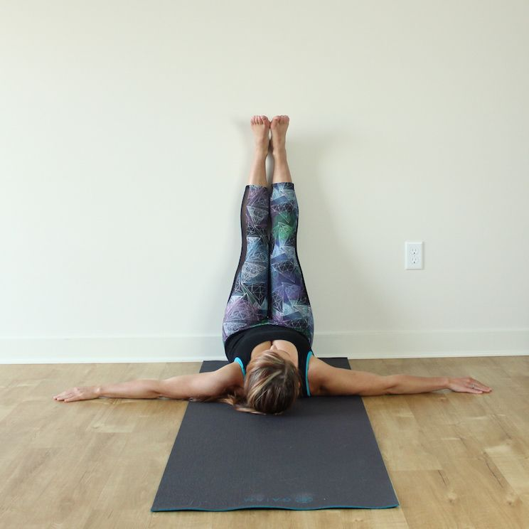 Sit Next To A Wall And Lay On Your Side Keeping Hips As Close The Possible You Turn Back Extend Top Leg