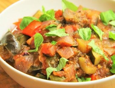 Easy and Healthy Ratatouille