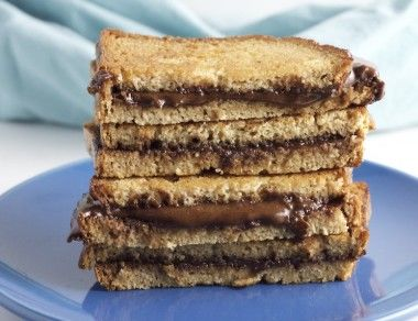 Paleo Grilled 'Nutella' Sandwich