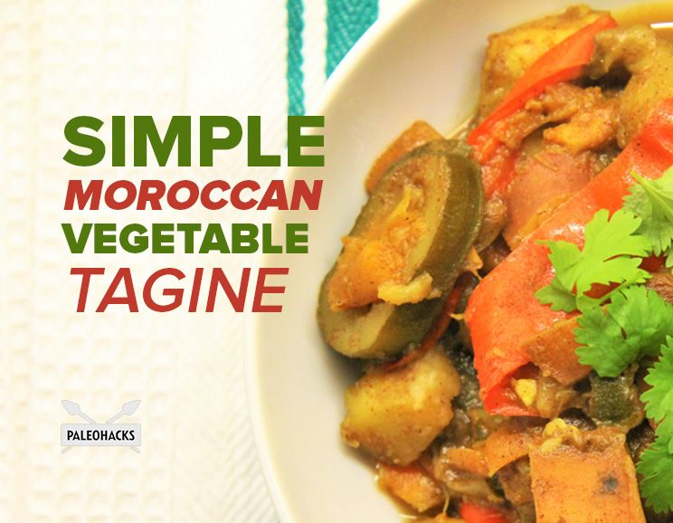 Simple moroccan vegetable tagine recipe paleohacks simple moroccan vegetable tagine forumfinder Image collections