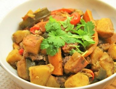 Simple Moroccan Vegetable Tagine