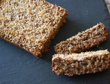 TigerNut Coconut Bread (with Coconut Flakes)