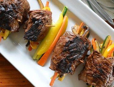 Tortilla-Free Paleo Steak Wraps