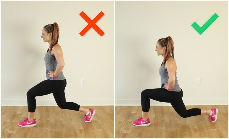 How To Do The Perfect Lunge Common Mistakes And Variations