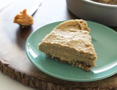 No-Bake Paleo Pumpkin Cheesecake