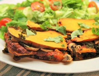 Pasta-Less Sweet Potato Lasagna