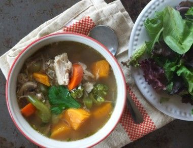 The Best Leftover Turkey Soup Recipe