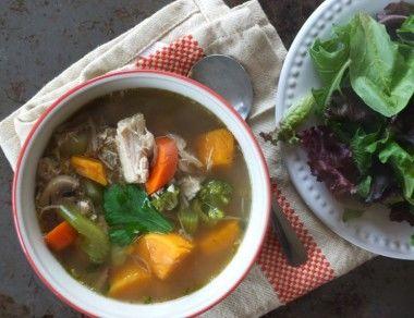 The Best Leftover Turkey Soup Recipe