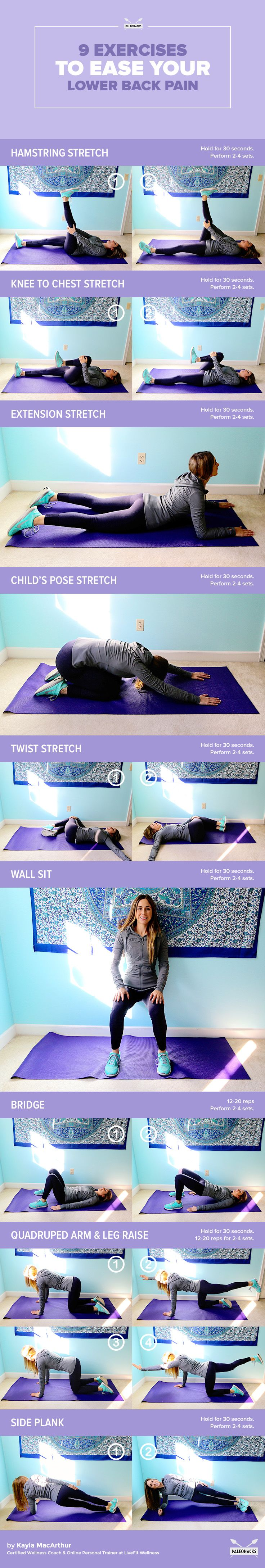 exercises to relieve lower back pain pdf