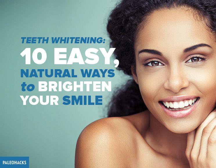 Natural Ways To Brighten Teeth
