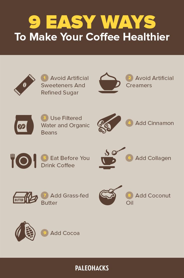 9 easy ways to make your coffee healthier How to make coffee with a coffee maker