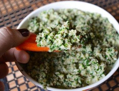 Recipe for spinach dip