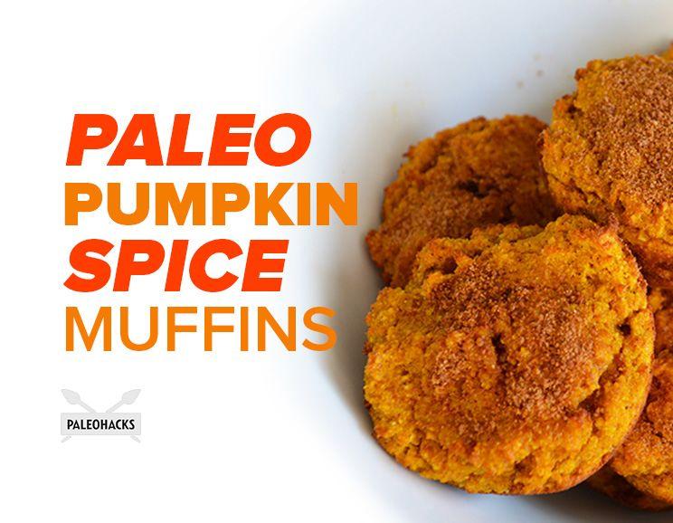 Paleo Pumpkin Spice Muffins | Grain Free, Dairy Free