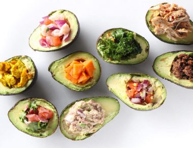 9 Healthy Ways to Stuff an Avocado