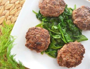 Greek Beef Patties (Biftekia)