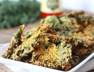 Nacho 'Cheese' Kale Chips Recipe