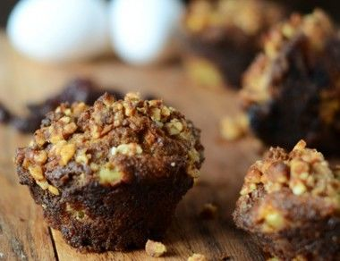 Paleo Apple Cherry Muffins