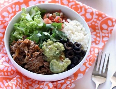 Better-For-You 'Chipotle' Burrito Bowl