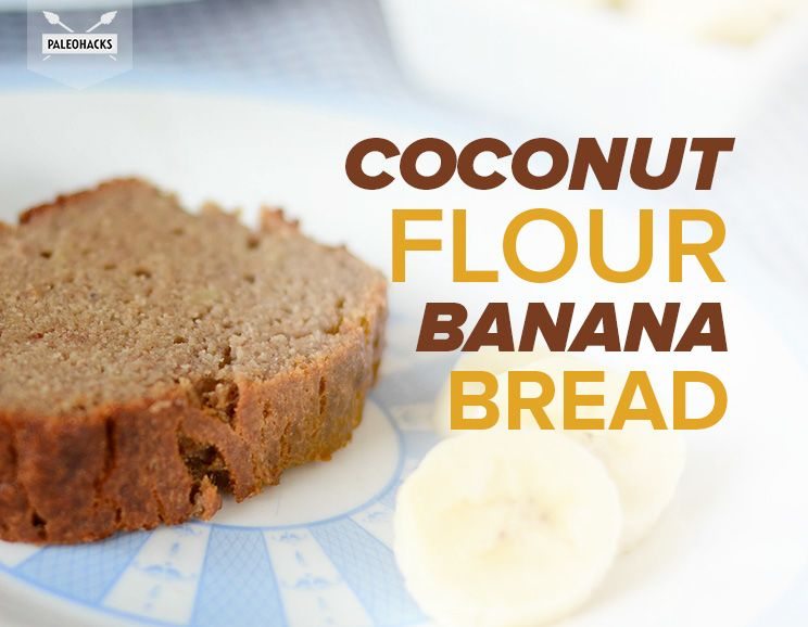 Paleo banana bread recipe with coconut flour grain free gluten free coconut flour banana bread featured img forumfinder Gallery