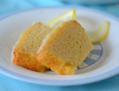Coconut Flour Lemon Pound Cake