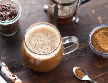 Decaf Dandelion-Cacao Latte
