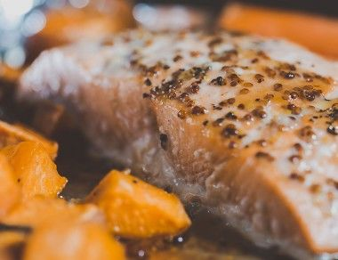One-Pan Salmon Dinner for Two