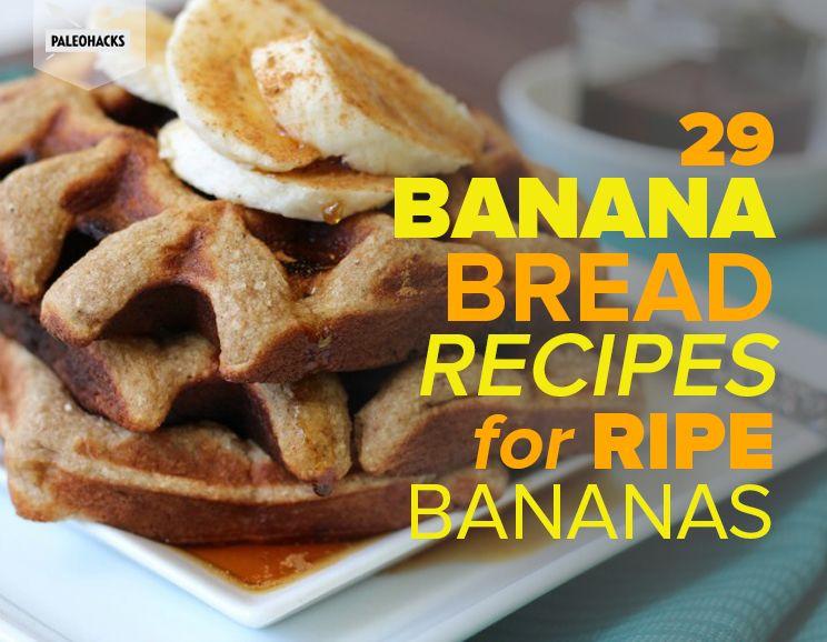 29 banana bread recipes for ripe bananas paleohacks 29 banana bread recipes for ripe bananas featured img forumfinder Choice Image