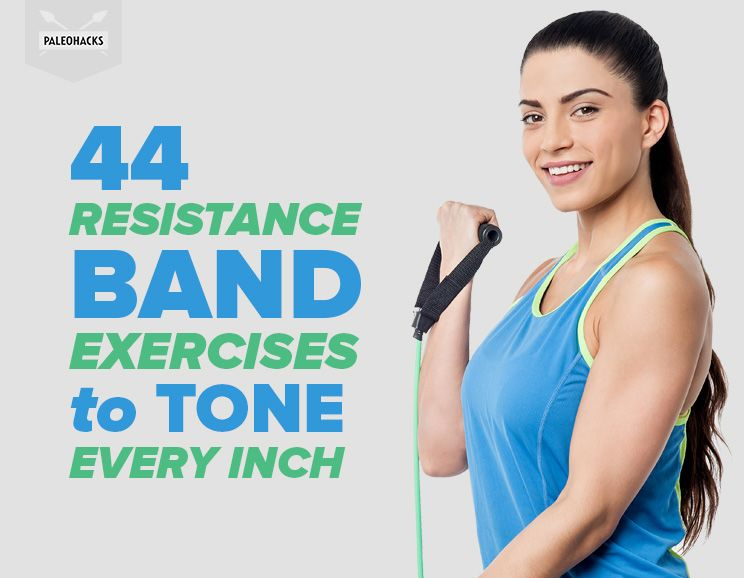 44 Resistance Band Exercises to Tone Every Inch