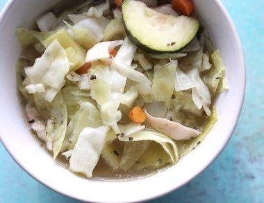 Crock Pot Cabbage Soup