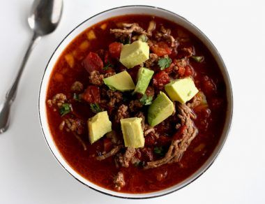 Cozy Taco Soup with Ground Beef