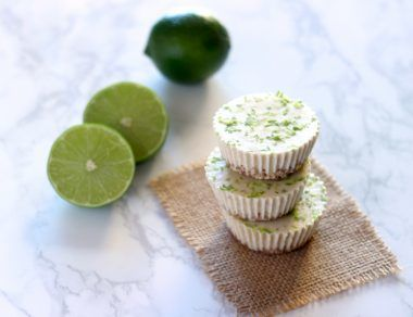 Key Lime Cheesecake Bites