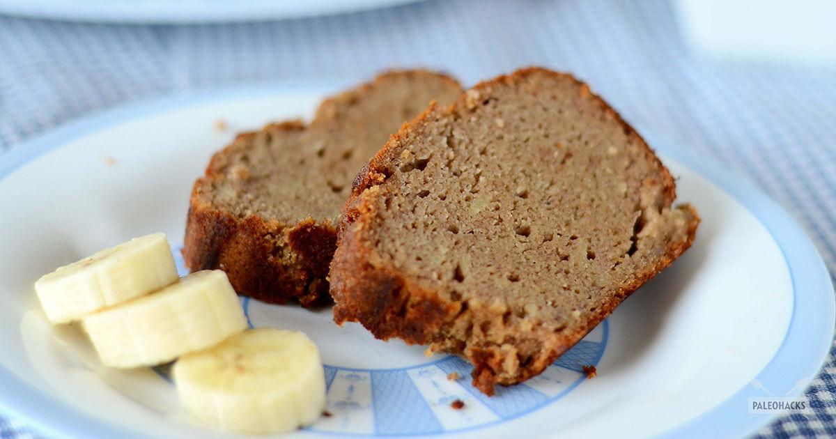 Paleo banana bread recipe with coconut flour grain free gluten free forumfinder Gallery