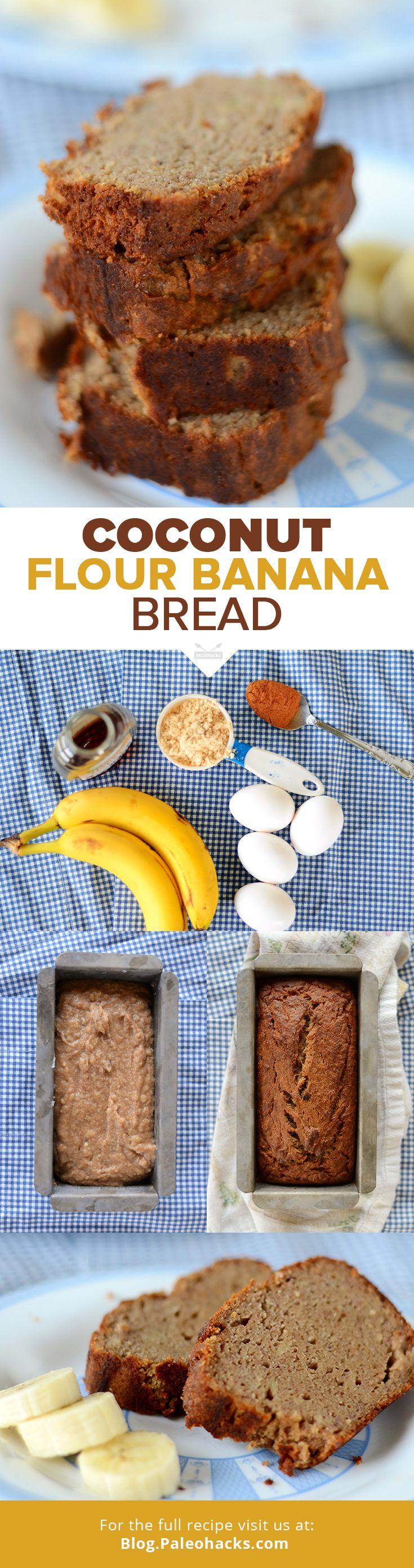 Keto Banana Bread Recipe Coconut Flour Banana Bread Recipe