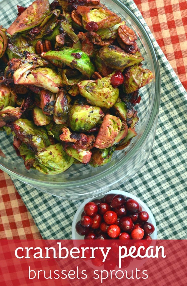 Cranberry and Brussels Sprout Detox Salad