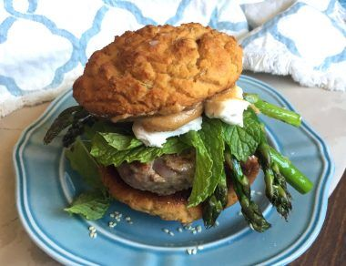 Greek-Style Lamb Burger Recipe