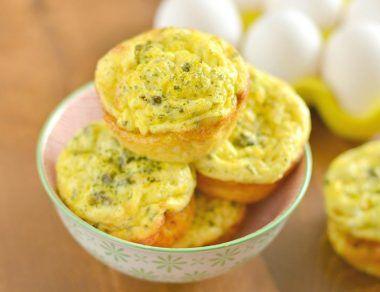 Lox and Caper Egg Muffins