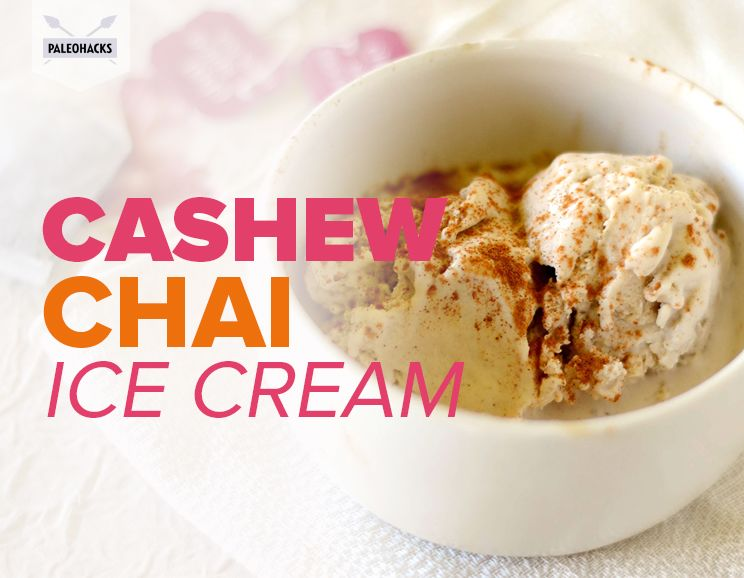 Cashew Chai Ice Cream