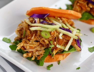 crockpot shredded chicken recipes featured image