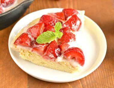 Coconut Flour Strawberry Shortcake