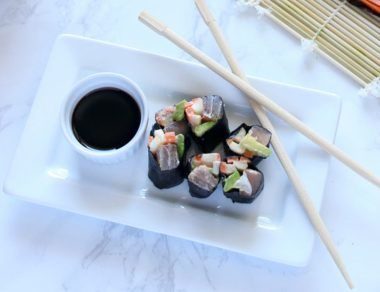 Grain-Free Spicy Tuna Roll