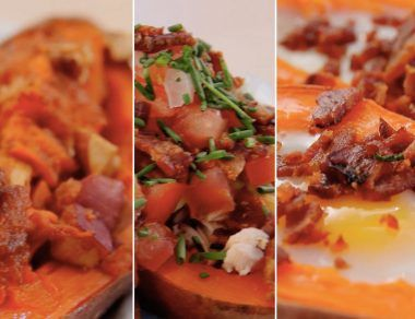 Sweet Potatoes, 3 Ways