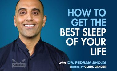 how to get the best sleep of your life podcast featured image with text